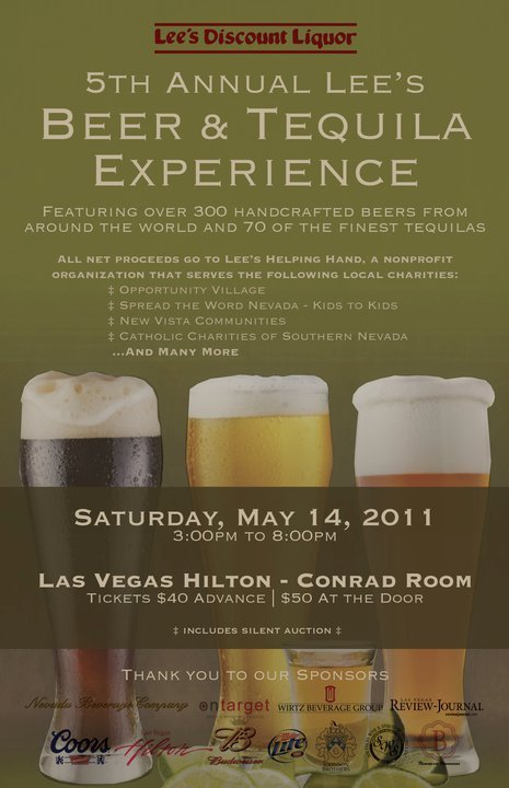 5th Annual Lee's Beer Experience